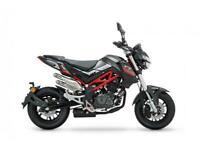 Benelli TnT 125cc Naked Street Bike Learner Legal Pit Mini Bike Fun Motorcycl...