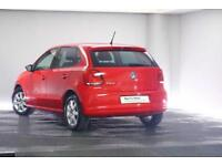 2011 Volkswagen Polo 1.2 (60ps) Match 5-Dr Petrol red Manual
