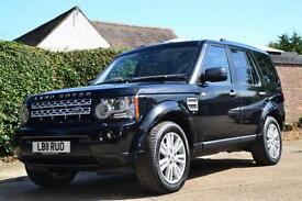 2011 LAND ROVER DISCOVERY 4 SDV6 HSE AUTO ESTATE DIESEL