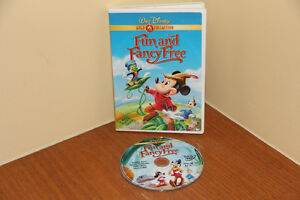 Disney Gold Classic Collection - Fun and Fancy Free DVD MOVIE