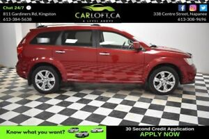 2011 Dodge Journey R/T AWD- LEATHER*HEATED SEATS*PUSH TO START