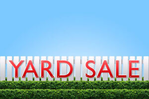 Outdoor Yard Sale (weather permitting)