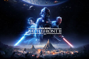 Unopened Star Wars Battlefront II for PS4