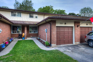 NO CONDO FEES FREEHOLD TOWNHOME!