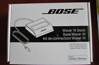 BOSE Wave III Dock for iPod or iPhone