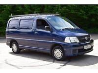 2.5 280 SWB D-4D 95 5D 95 BHP LOW ROOF DIESEL PANEL MANUAL VAN 2009