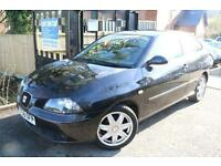 Seat Ibiza 1.4 Sport 3 Door Black Cambelt Changed Long MOT