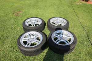 Winter tires perfect condition