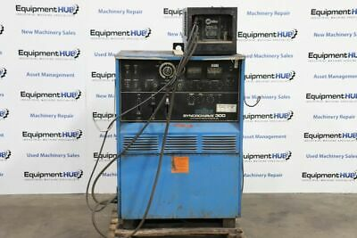 Miller Syncrowave 300 Acdc Tig Welder W Radiator 1a Cooling System