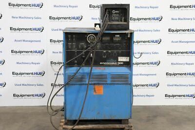 Miller Syncrowave 300 Acdc Tig Welder W Radiator 1a Cooling System