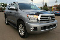 2012 TOYOTA SEQUOIA PLATINUM 8-PASSENGER DVD, NAV, LOADED!!!