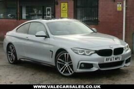 image for 2018 67 BMW 4 SERIES 430I M SPORT (£7,210 OF EXTRAS) AUTO 2DR