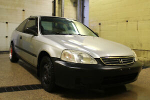 2000 Honda Civic Special Edition Coupe (2 door) Saftied