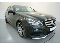 2014 BLACK MERCEDES E350 3.0 AMG SPORT DIESEL AUTO SALOON CAR FINANCE FR £225PCM