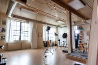 Low Cost Photography Loft in Toronto!