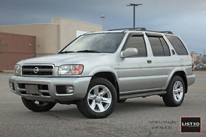 2003 Nissan Pathfinder LE CERTIFIED AND ETESTED!