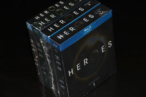 BLU RAY-HEROES-SEASONS-COMPLETE COLLECTION-FILM/MOVIE (NEUF/NEW)