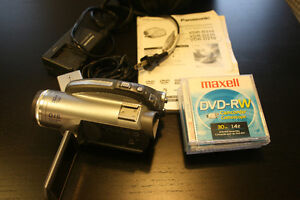 Panasonic DVD Palmcorder Video Camera