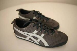 Onitsuka TIGER Mexico 66 in Grey/White Leather mens size US5 Potts Point Inner Sydney Preview