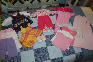 baby girl lot (3-6 months)