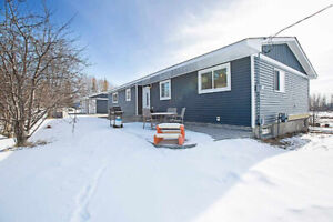 Extensively Renovated Five Bedroom Bungalow on 3.36 Acres
