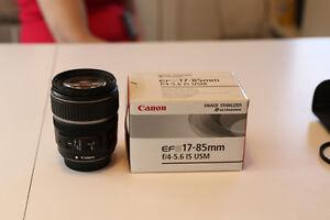 Canon 17-85 Multi purpose Lens