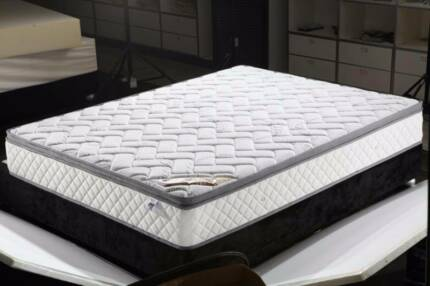 Brand New Eurotop Pocket Spring Medium Firm Mattress (SL1716)