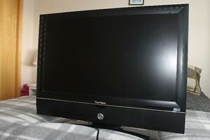 27 in View Sonic flat screen TV