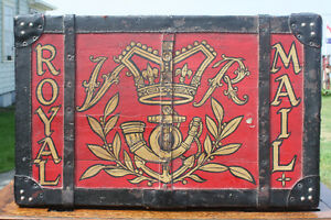 Victorian Royal Mail Delivery Postal Trunk