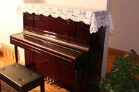 52'' Professional Upright Piano in Excellent Condition
