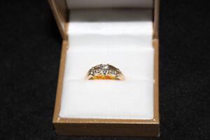 Bague en or et diamant **magnifique** W012031