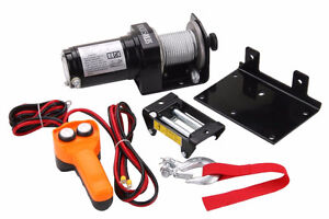Winch - 2000lbs - 12v - Monte charge  $90. Neuf