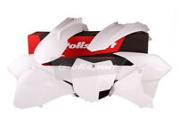 Plastic Kit KTM EXC EXC-F 125/200/250/350/450 14-15 Enduro White Plastics