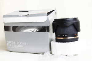 Like New Tamron SP 24-70mm Di VC USD For Sony A mount