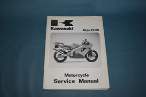 1998 Kawasaki Ninja ZX-9R Factory Service Shop Repair Manual