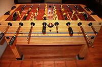 Looking for a Foosball Table. Tournament quality