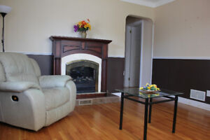 4 Bedrm Furnished House close to uOttawa/downtown-wifi, tv incl.