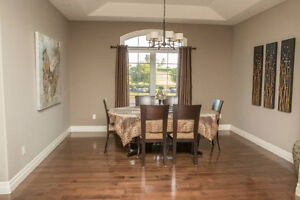 Canadian made solid wood dining room set