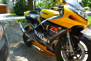 2003 Suzuki GSXR750 - Great Condition