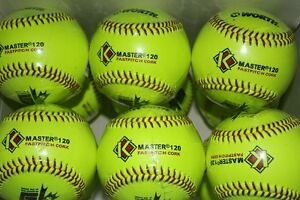 1 DOZEN NEW FASTPITCH BALLS