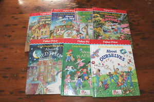 Lot of Fisher-Price Little People Big Books London Ontario image 1