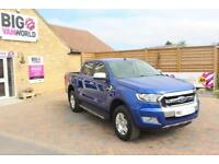 2016 FORD RANGER LIMITED TDCI 197 4X4 DOUBLE CAB PICK UP DIESEL