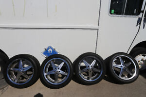 5x120 Mags & Tires 255/45/20