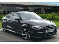 2020 Audi A3 Saloon Black Edition 35 TFSI 150 PS 6-speed Saloon Petrol Manual