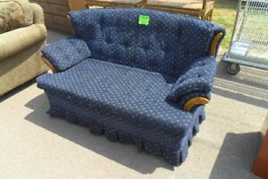Blue Loveseat Only $40 Delivery Is Available For Small Fee