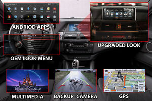 OEM FIT BMW X5 X6 ANdroid navigation GPS Backup Reverse camera