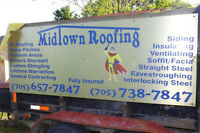 MIDTOWN ROOFING 25 % OFF ALL LABOR FOR 2017