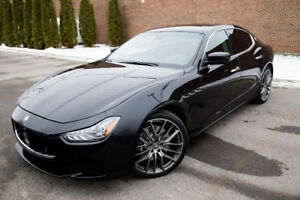 2015 Maserati Ghibli SQ4 AWD Sedan