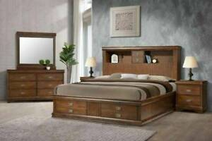 NEW ARRIVAL!!!!!! Madison Queen/king Bed Frame ( Suite Available )