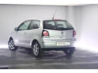 2008 Volkswagen Polo 1.2 Match (70 PS) Petrol silver Manual